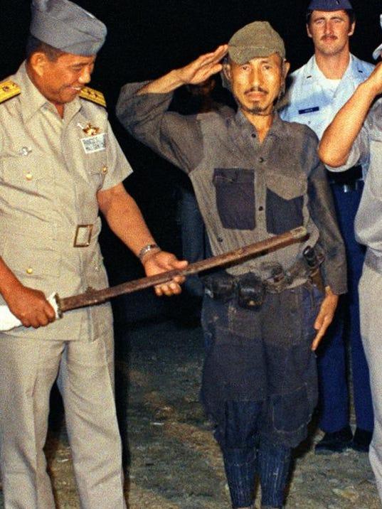 Japan Obit Onoda 1974
