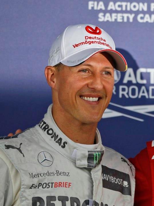 Schumacher Injured