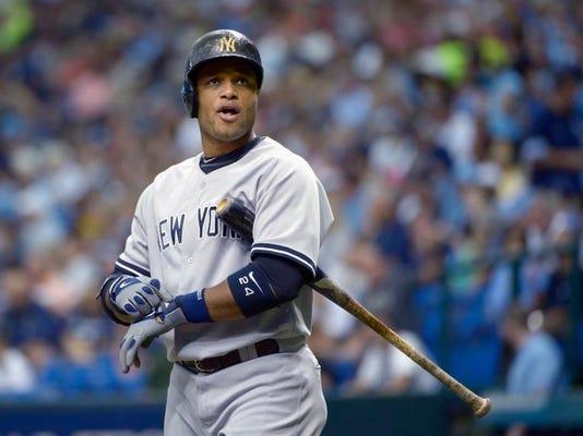 Yankees Cano Baseball
