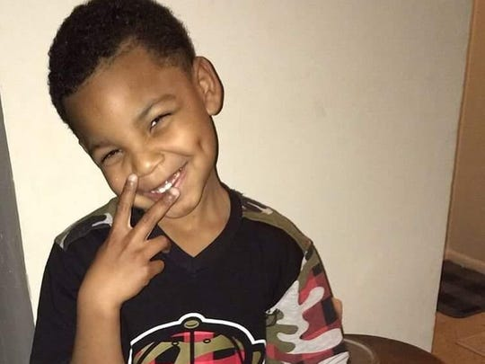 Andre Lamont O'Neal Jr., 8, was killed in January 2016.