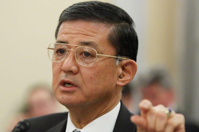 Eric Shinseki is secretary of the Department of Veterans Affairs.