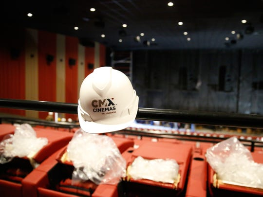 The new CMX Movie Theater is slated to open on Friday,