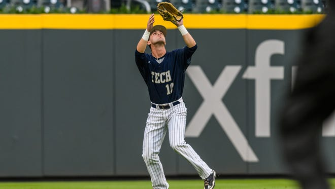 Chase Murray, a 2016 CHCA grad, was named All-ACC second team this spring after hitting .343 with six home runs and 39 RBI at Georgia Tech. Now, he's playing in the Cape Cod League.