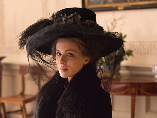 The widowed Lady Susan Vernon (Kate Beckinsale) wants
