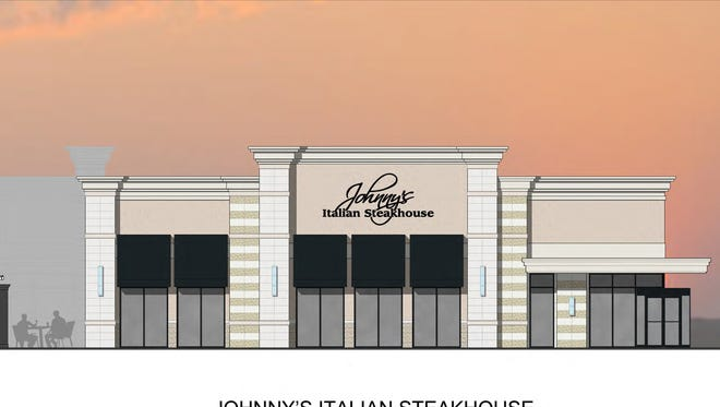A portion of the rendering for the new Johnny's Italian Steakhouse.