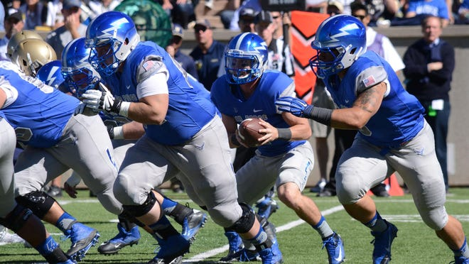 Air Force's triple-option offense can be a nightmare for opposing defenses, which rarely see anything like it.