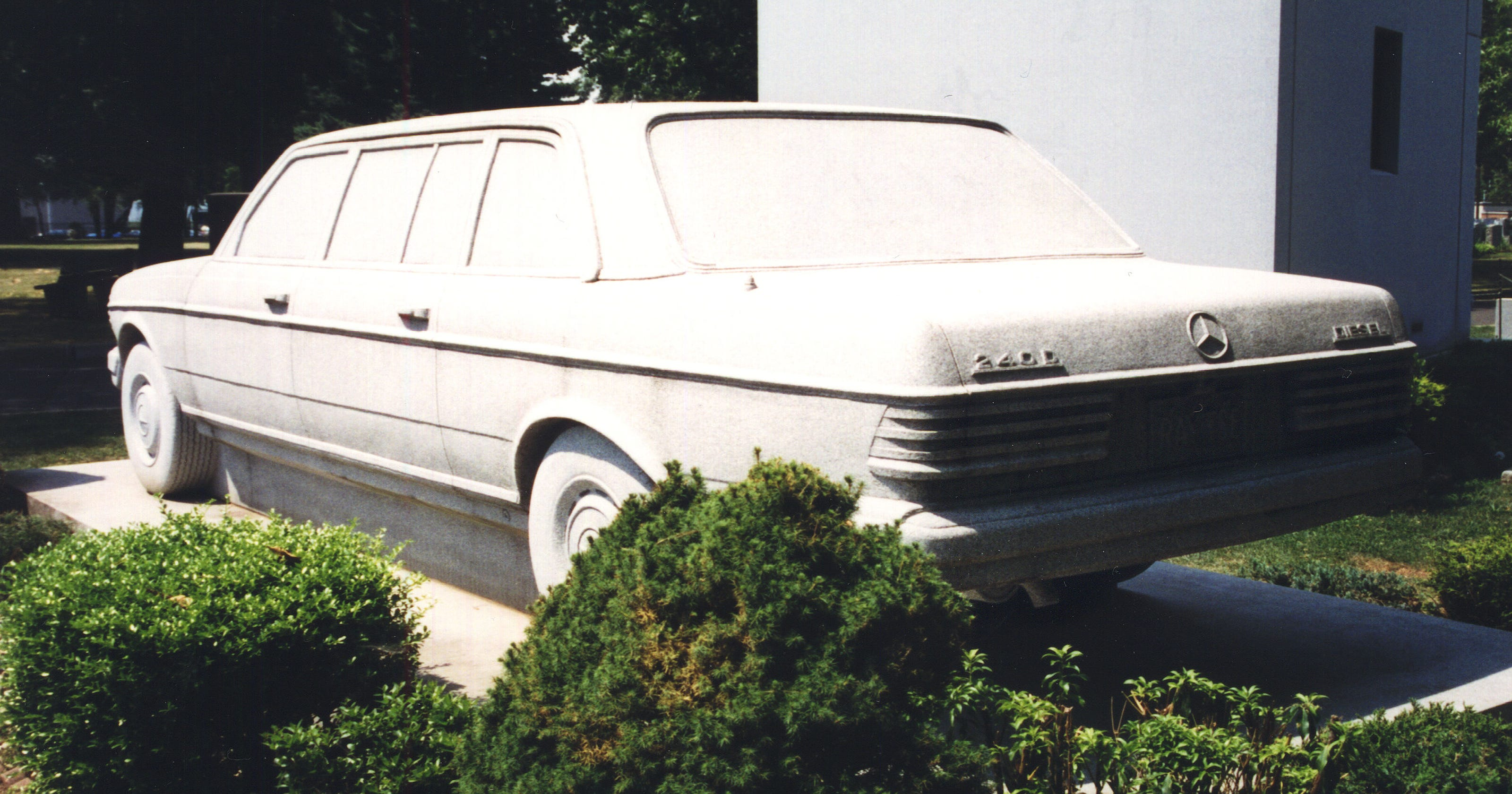 Weird NJ: The Mercedes Benz Tombstone