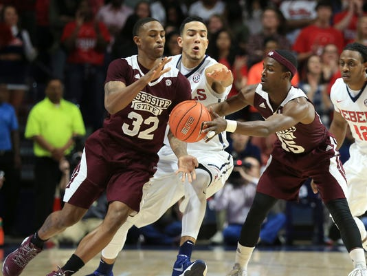 NCAA Basketball: Mississippi State at Mississippi