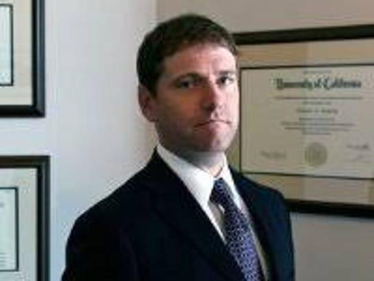 Knoxville attorney Cullen Wojcik is shown in an undated