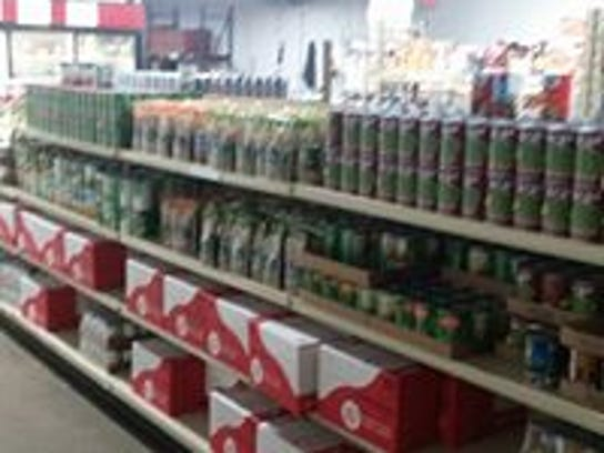 Salvation Army Manitowoc County food pantry.