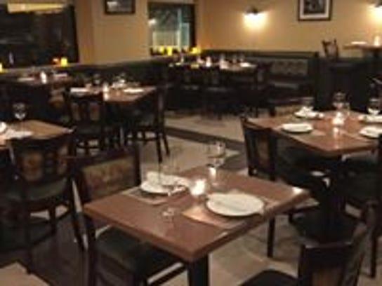 Dining room at Alegria