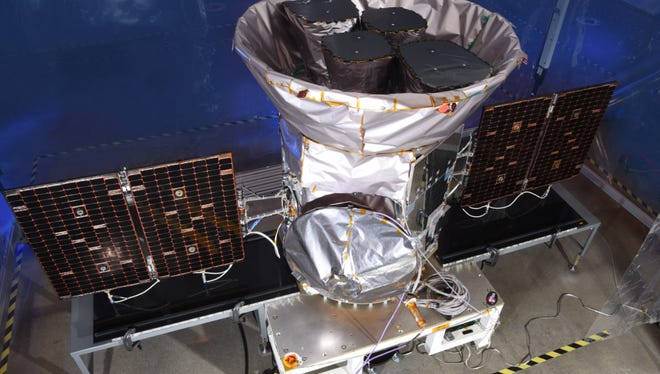 The fully integrated Transiting Exoplanet Survey Satellite (TESS) will launch in 2018 to find thousands of new planets orbiting other stars.