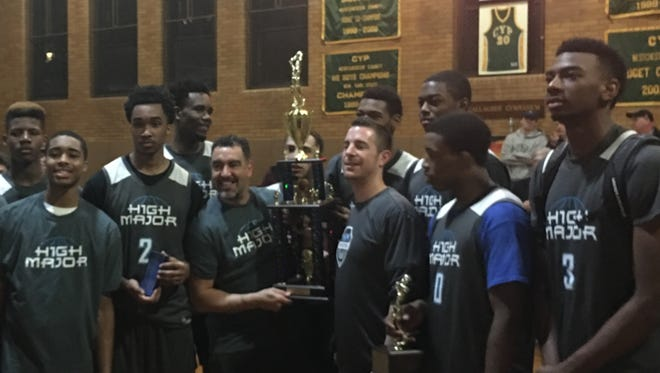 High Major won its second straight tournament at the famed CYP Gym at Our Lady of Mercy in Port Chester on March 26, 2017.