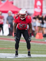 Robert Jackson made 41 tackles this past season at UNLV.