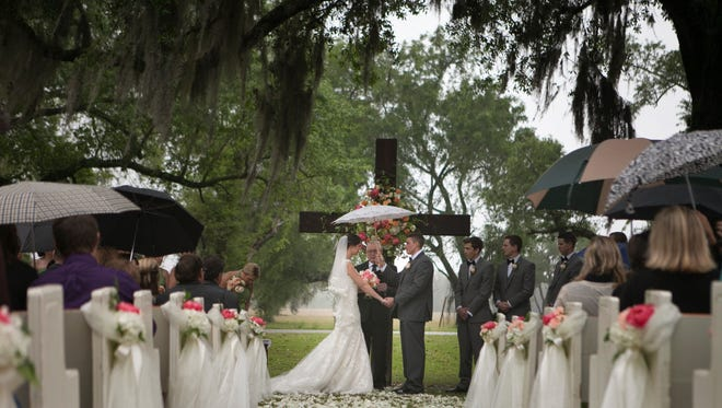 Rain on your wedding day doesn't have to be a disaster.