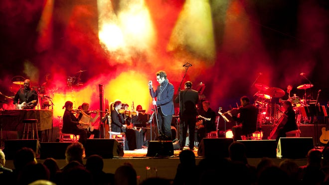 Eisenhower's world-class fundraiser capped by a one hour private Josh Groban performance on the grounds of the Eldorado County Club.