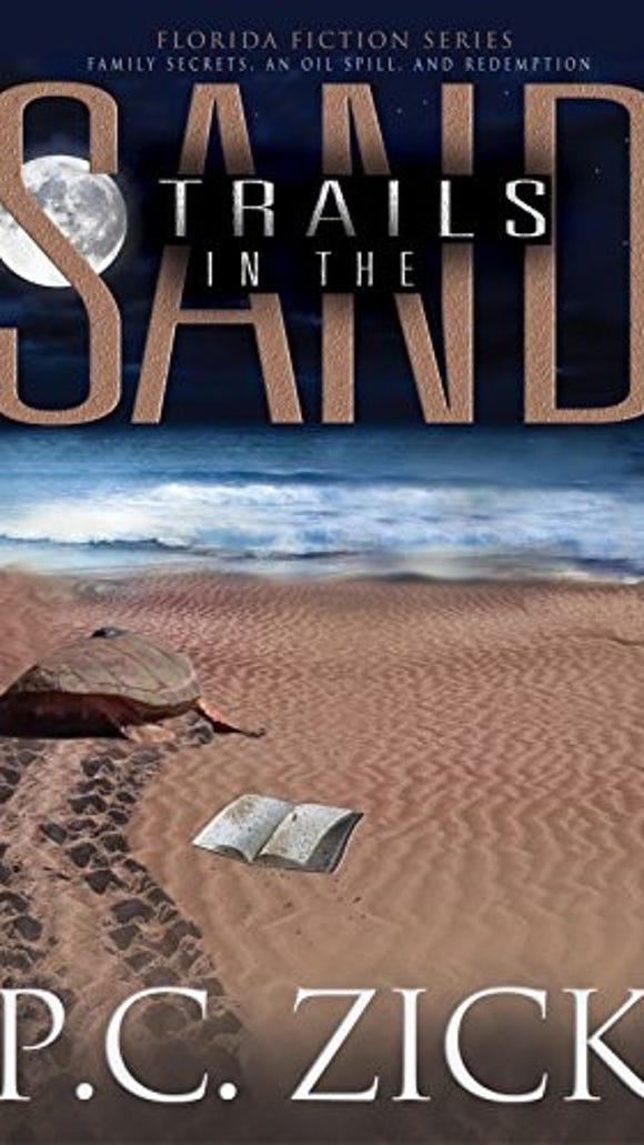 Trails in the Sand by P.C. Zick