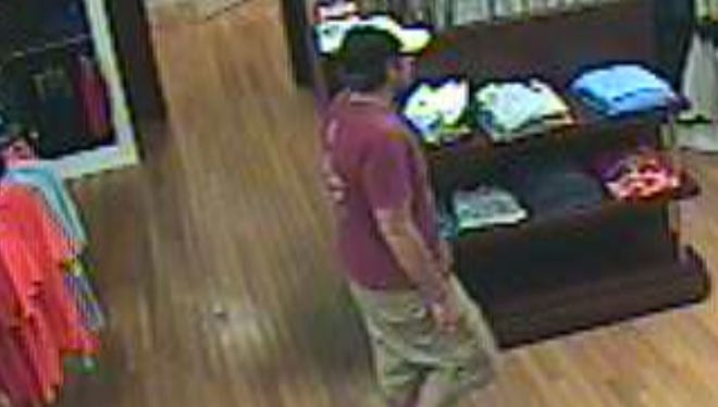 If you can identify the man, call the police or Crime Stoppers at 215-STOP. Tips can be rewarded with cash.