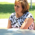 Gov. Susana Martinez meets with the Current-Argus staff.