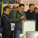 World Dairy Expo attracted 2,434 entries in the cattle shows exhibited by 1,778 handlers from 37 U.S. states, 9 Canadian provinces and 1 Mexican state.