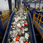The Rumpke recycling facility in St. Bernard is celebrating its one-year anniversary.