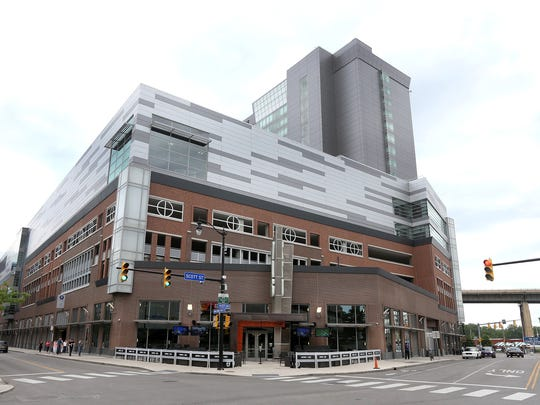 The Harbor Center, built on a one-time parking lot