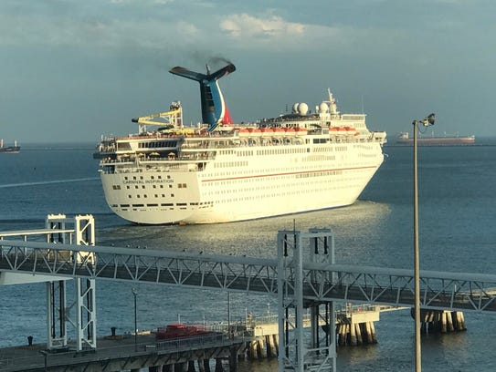 The Carnival Inspiration cruises from Long Beach to