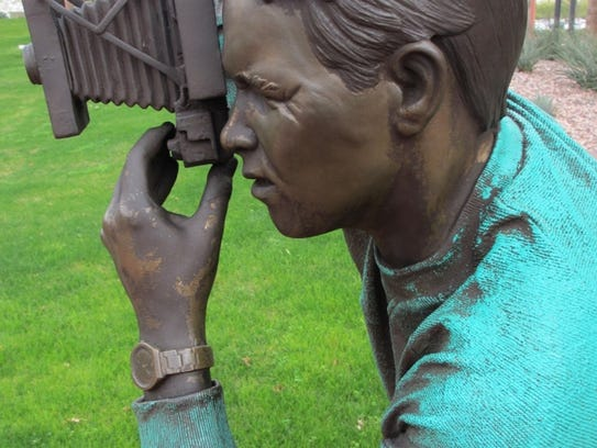 Works by Seward Johnson Atelier, founder of the Grounds