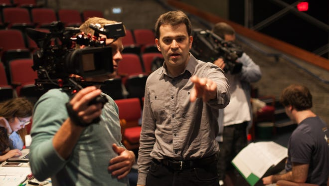 Director and adaptor Justin Poole, professor of theater at Eastern Mennonite University's Mainstage Theater in Harrisonburg.