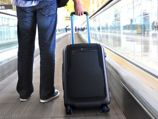 Bluesmart is a connected carry-on bag