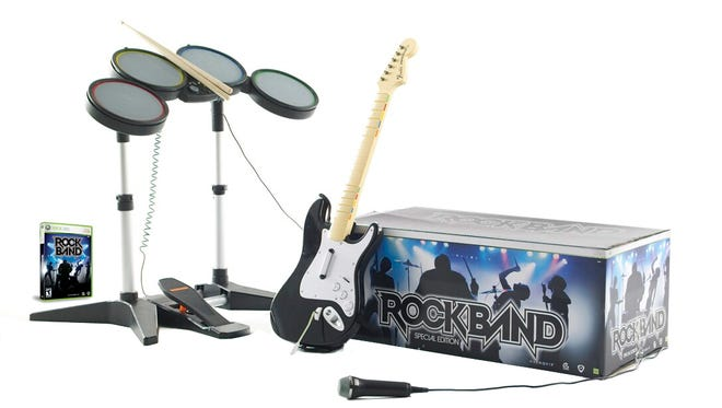 Rock Band special edition for XBox 360.