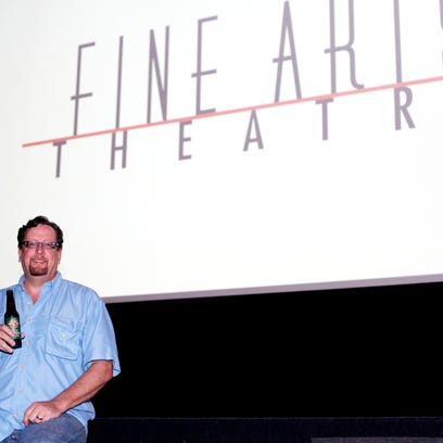 Neal Reed, the manager at Fine Arts Theatre on Biltmore
