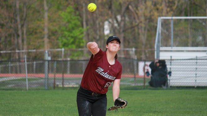 Lauren Conroy helped Matawan to a 10-0 Monmouth County Tournament victory over Holmdel.