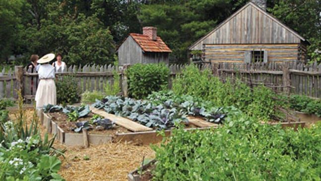 Landis Valley Farm Museum in Lancaster County is a treasure trove of traditional garden techniques and ideas.