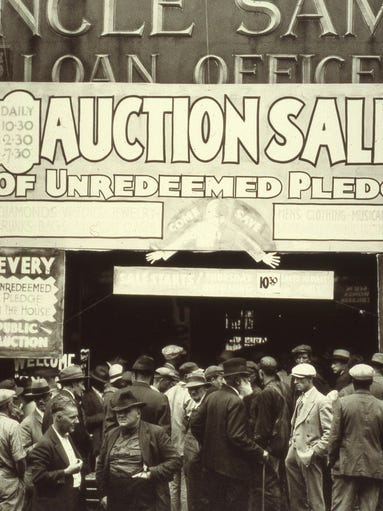 Uncle Sam's Loan and Jewelry once occupied the space