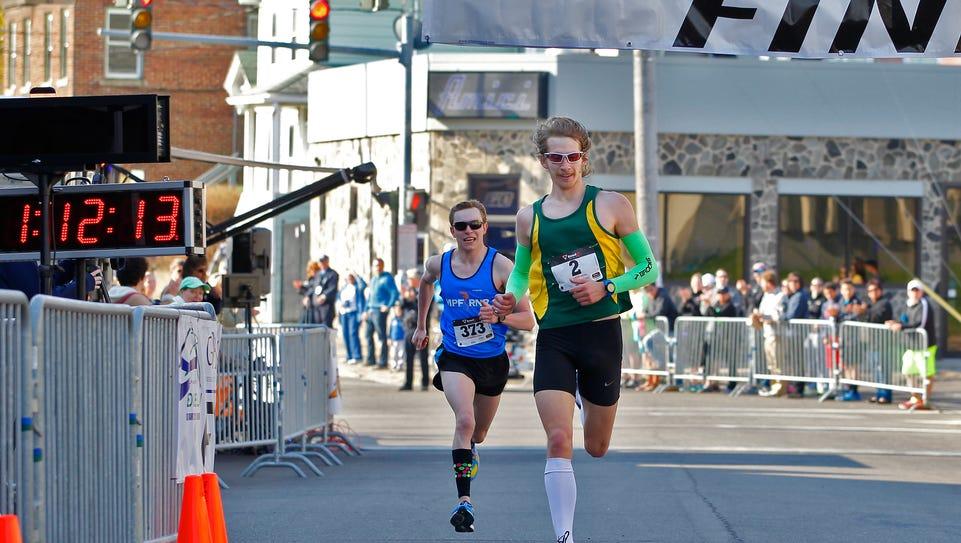 Benjamin Snodgrass, 23, of Apalachin takes first place