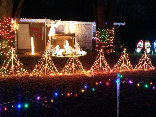don and rhonda long 4066 s ridgecrest dr - Long Christmas Lights
