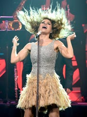 Gloria Trevi performs during the 23rd Annual BMI Latin Awards at the Beverly Wilshire Hotel on March 2, 2016, in Beverly Hills, Calif.
