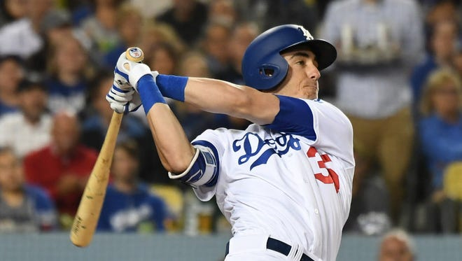 Los Angeles Dodgers first baseman Cody Bellinger is Tom Haudricourt's MLB player of the week.