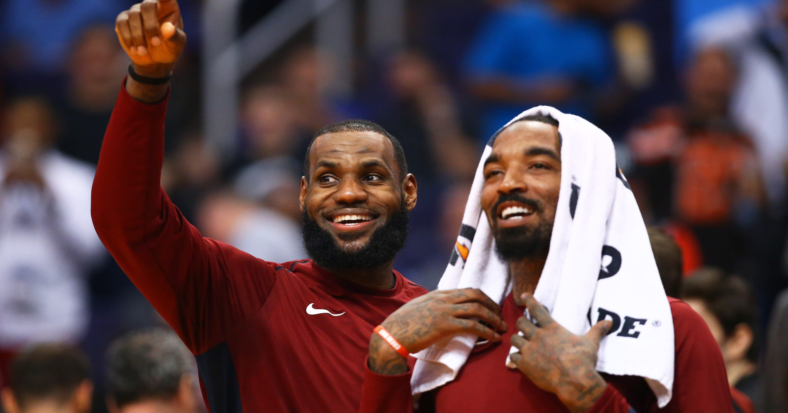 9547a3d7eda2 J.R. Smith made an amazing joke while talking about LeBron