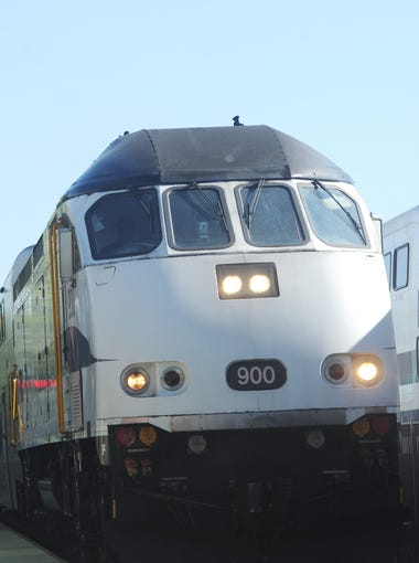 A Metrolink train arrives at the Chatsworth Station recently. Sept. 12 is the 10th anniversary of the deadly Metrolink crash near Chatsworth that killed 25 people.