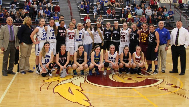The West vs. Midwest All-Star basketball games were played Saturday at Cherokee.