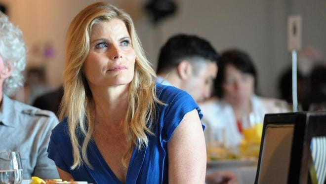 """Mariel Hemingway, here pictured at the Sarasota Film Festival's Tribute Luncheon, will participate in a Q&A Sept. 14 at The Little after the screening of """"Running From Crazy,"""" the documentary about her family's struggles with suicide."""