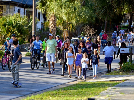 Several downtown Pensacola streets will be closed to motorized traffic March 25 for Ciclovia: Pensacola Open Streets.