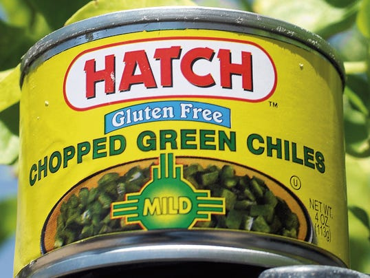 Pictured is a can of Hatch brand chopped green chile produced by the Hatch Chile Co., a Georgia-based company. The back of the can states the contents are a product of Mexico.