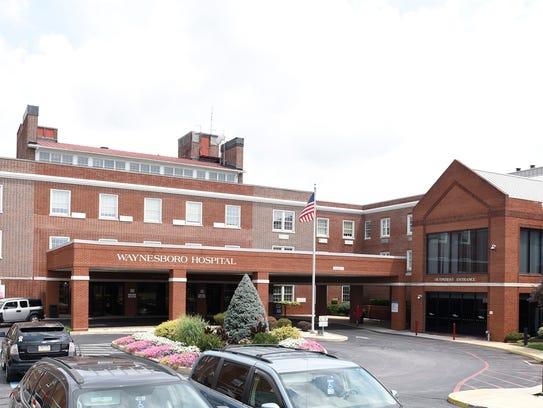 Waynesboro Hospital is seen in this photograph taken