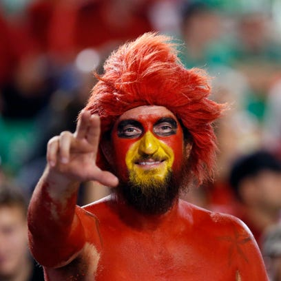 The fan known as Gary Redbird was in the stands for