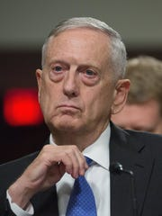 Defense Secretary Jim Mattis is at odds with the administration, describing climate change as a threat to military operations.