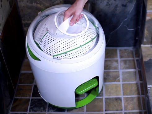 washing machine with no electricity
