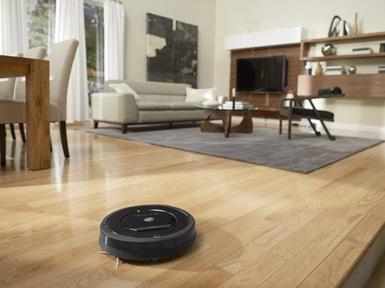 The Roomba 880 from iRobot.